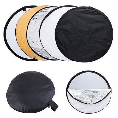 Collapsible Reflector Portable 60x60cm  for Studio or any Photography Situation