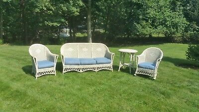 Antique Wicker Furniture Set