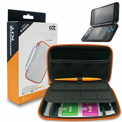 White Protective kit for New Nintendo 2DS XL, Case, Screen Protector, Stylus