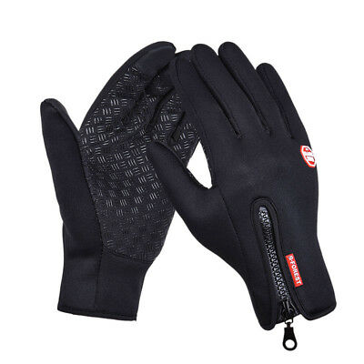 Full finger windproof mountain motorcycle racing winter bicycle warm bike gloves