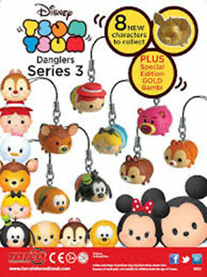 Disney Tsum Tsum Part 3 Figures, Keychains, Danglers, Party Bag Fillers NEW