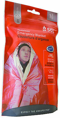 Adventure Medical SOL Emergency Blanket! Windproof and Waterproof! Camp/Hunting
