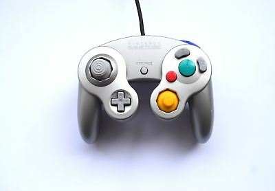 Official Genuine Original Nintendo GameCube Wired Gaming Controller Silver