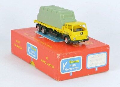 Triang Minic Ex Shop M1546 Bale Lorry Exc Runner Mainly Near Mint & A Lovely Box