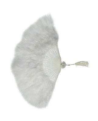 Zucker Feather Products Large Marabou Feather Fan White