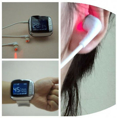 Tinnitus Laser Therapy Medicomat-24 Ear and Wrist Type Laser Tinnitus Therapy