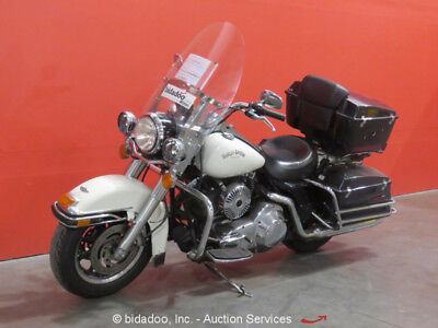 Harley Davidson FLHPI  2003 Harley Davidson FLHPI Road King Police Motorcycle V-Twin Twin Cam 88 Bike