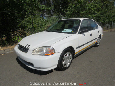 1998 Honda Civic  1998 Honda Civic GX Compact Sedan 1.6L 4-Cyl A/T Alternative Fuel CNG bidadoo