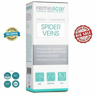 REMESCAR Best Cream for Spider Veins, 50ml , Reduces Face and Body Redness!!!