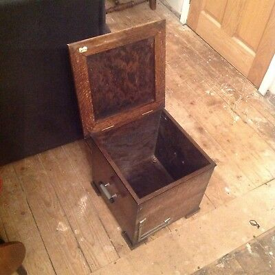 Interesting Old Wooden Box