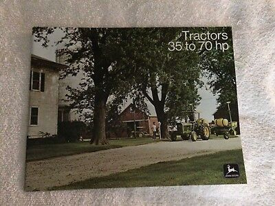 John Deere Brochures Lot 8