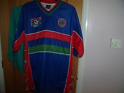 Gambia football shirt A Gomez on back
