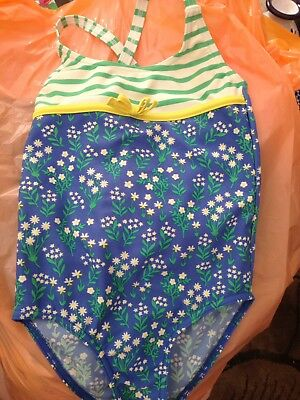 Mini Boden Girls Swimsuit Swimming Costume 5-6yrs Cossie
