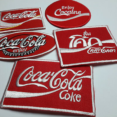 "COCA COLA ""COKE"" - *SALE* - Patches - Embroidered IRON-ON PATCH Store - NEW!"