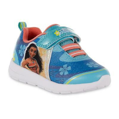 NEW Disney Moana Sneakers Toddler Child Size 6 7 8 9 10 11 or 12