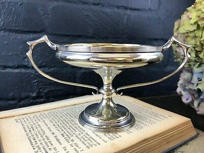 Antique Vintage Walker & Hall Silver Plate Sheffield Swimming Gala 1920 Trophy