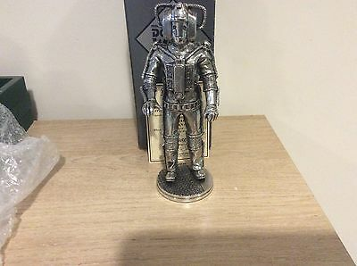Robert Harrop DOCTOR WHO WHOPE02 PEWTER CYBERMAN 1975  LTD ED 100