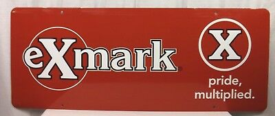 "Exmark Outdoor Power Equipment Large Sign - 39"" x 15 1/2"""