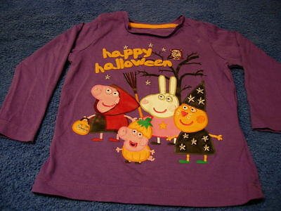 "Marks and Spencer, Peppa Pig, "" Happy Halloween "" Top, 12-18 Months"