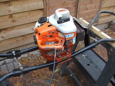 Stihl BT 308 Post Hole Borer and 2 Augers