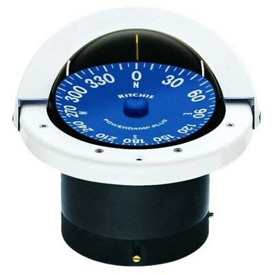 Ritchie Supersport White Flush Mount Compass