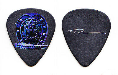 Nickelback Ryan Peake Signature Black Guitar Pick - 2010 Dark Horse Tour