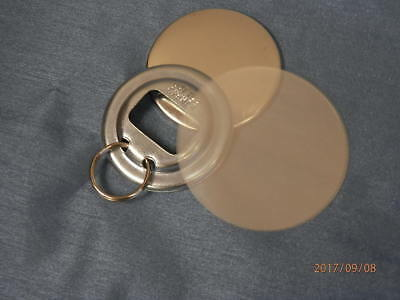 """Bottle Opener Parts With RINGS for Button Press Machines 2 1/4"""" STD 2.25 """""""