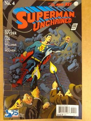 NEW 52 Superman Unchained 4 VARIANT 1:100 NM UNREAD HTF HOT OOP Cool DC Comics