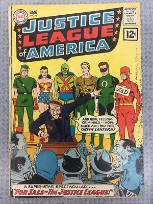 Justice League Of America #8 G