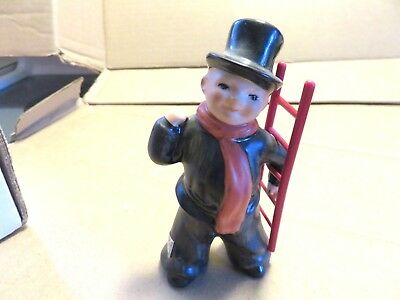 Goebel Hummel Figurine - Chimney Sweep - Red Ladder - West Germany