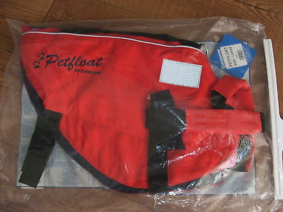 Crewsaver Petfloat Dog Cat Life Saver Swim Jacket Flotation Buoyancy Aid