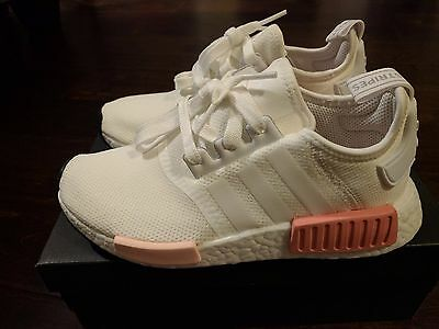 863e28aeda8 ADIDAS NMD R1 W White Icey Pink Rose BY9952 Mesh Runner Women s NEW ...