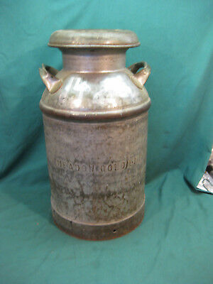 Vintage Meadow Gold Large Milk Can - Lima Ohio