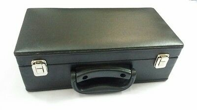 BRAND NEW BUGLE CARRYING CASE/BLACK SOFT LEATHER CASE FOR Bb BUGLE