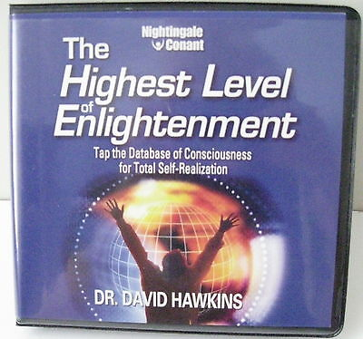 The Highest Level of Enlightenment by Dr. David Hawkins 6 CD Set