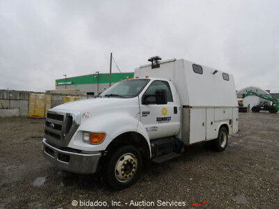 2011 Ford F-650XL  2011 Ford F-650Xl Super Duty Service Mechanics Truck Cummins Diesel Parts/Repair