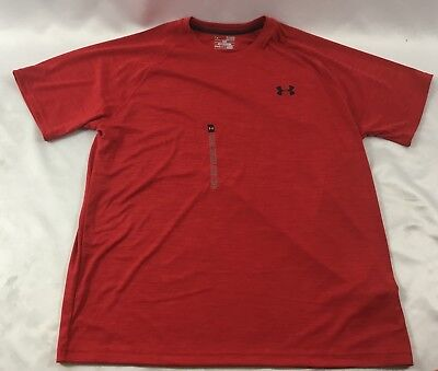 Under Armour MEN'S Athletic Shirt Loose Heat Gear Red 1293936 Size XL