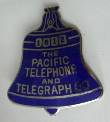 I have a circa 1930s Pacific Telephone And Telegraph Co. employee badge