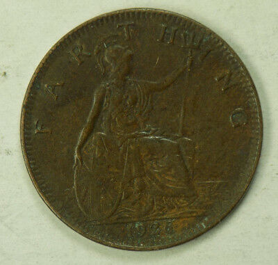 Great Britain 1926 1 Farthing Coin