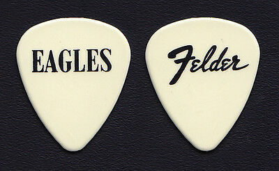 Eagles Don Felder Off-White Guitar Pick - 1994 Hell Freezes Over Tour