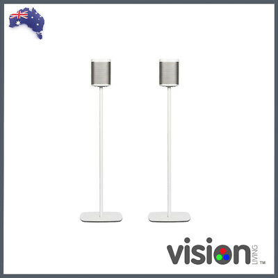 Flexson Sonos Play:1 Floorstand (Pair - White)