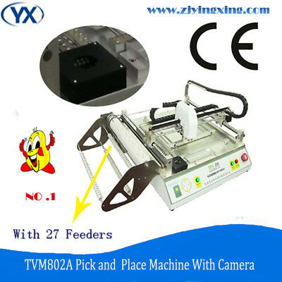 Desktop PCB Pick and Place Machine with Double Vision,High Accurcy Low Price