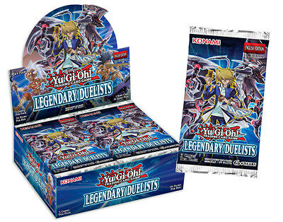 Yugioh TCG Legendary Duelist Booster Pack - NEW and SEALED - AUTHENTIC