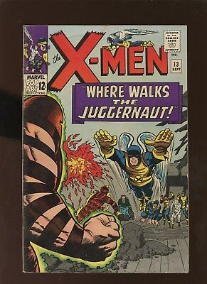 X-Men 13 FN 5.5 * 1 Book Lot * Juggernaut!!!