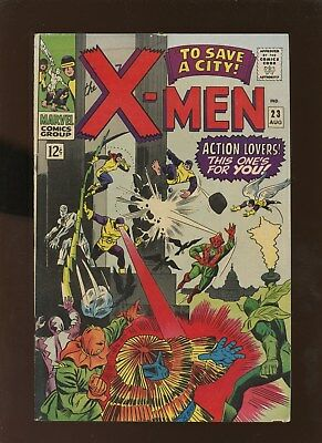 X-Men 23 FN+ 6.5 * 1 Book Lot * Count Nefaria!!!