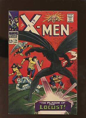 X-Men 24 FN 6.0 * 1 Book Lot * The Locust!!!!