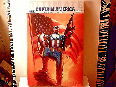 Captain America:ultimate Marvel-New/sealed/wrapped Hardcover Book Premiere Edtn!