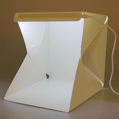 Portable Light Room Photo Studio Photography Backdrop Cube Box Tent Kit White