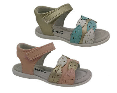 Girls Shoes Grosby Splash Pink or Gold Sandals Hook and Loop Size 4-8.5 New