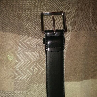 Brand New Black Leather Money Bellt. Size 32. Hide Money. See Pics And Descripti